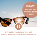 Steeds een vakantiegevoel met een Dac'art appartement aan het water