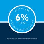 Geniet van de tijdelijk verlaagde 6% BTW-maatregel op Dac'art